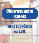 Churrasqueira Isoleta - Menu económico